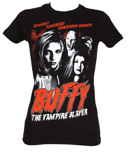 Buffy the vampire slayer t-shirt from truffle shuffle, as worn by Cher Lloyd