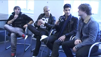 The Wanted Sugarscape Interview