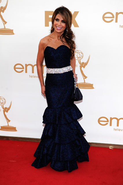 Paula Abdul at the Emmys