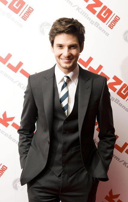 Ben Barnes smiling