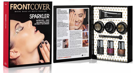 beauty cosmetics frontcover eyes sparkler