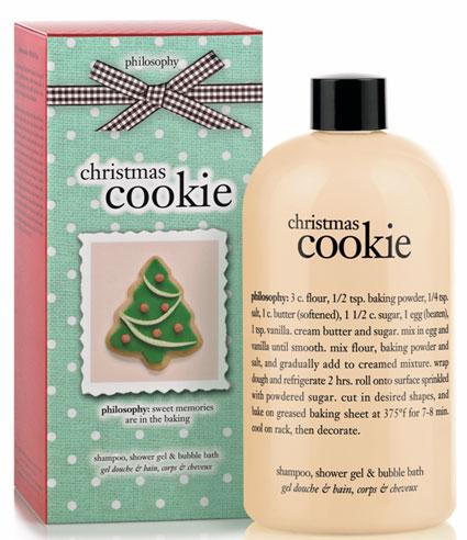 philosophy cookie shower gel shampoo