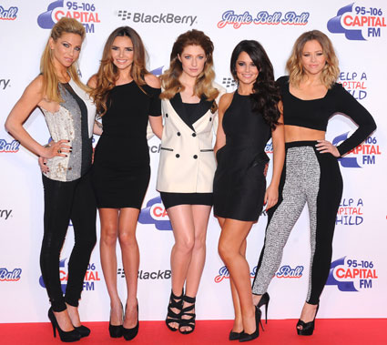 girls aloud capital fm jingle bell ball