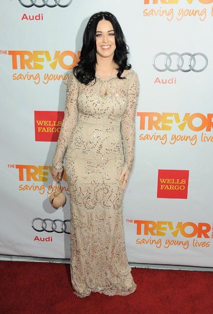 katy perry at trevor live 2012