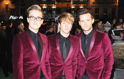 mcfly at the hobbit premiere