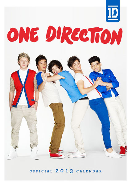 one direction 2013 calendar