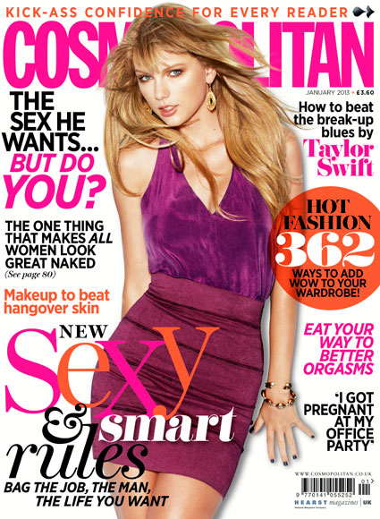 taylor swift cosmopolitan magazine