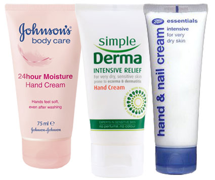 winter skin handcreams
