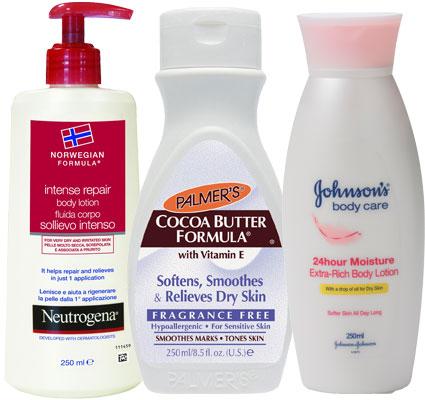 dry skin moisturisers