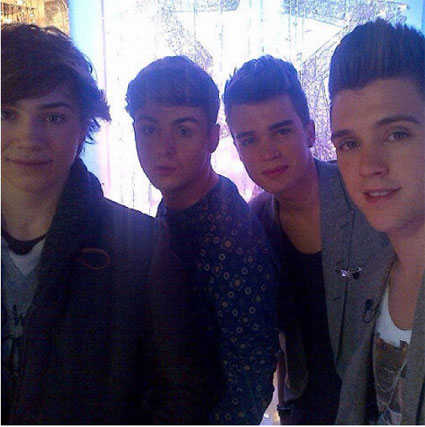 The Union J pose appreciation gallery - X Factor - PICS