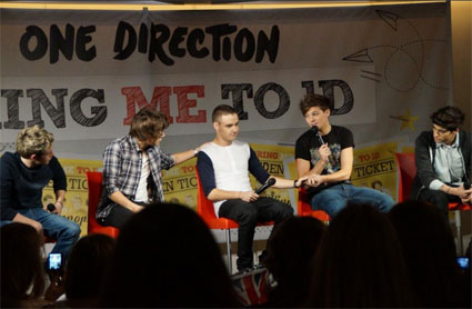 One Direction at the Bring Me To 1D Go1Den Ticket day in New York - PICS