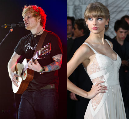 Ed Sheeran and Taylor Swift among the nominees for 2013 Grammy Awards. One Direction miss out.