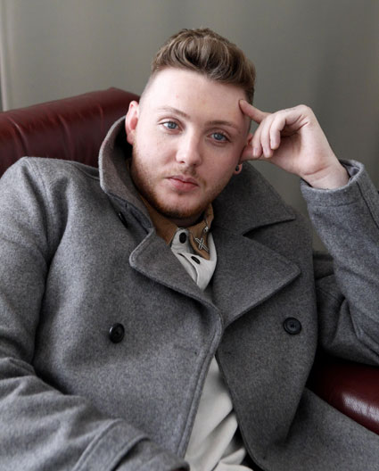 X Factor's James Arthur has already written songs 'perfect' for One Direction.