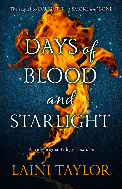 Zoe Plant Reader Review - Days of Blood and Starlight by Laini Taylor