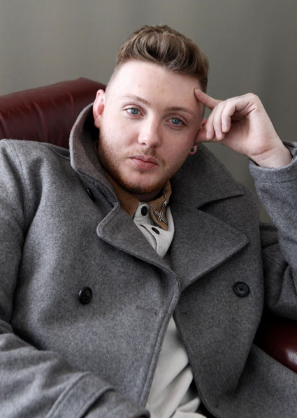James Arthur denies he's dating Caroline Flack - but takes Made In Chelsea's Kimberley Garner on a date