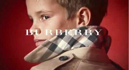 romeo beckham burberry campaign