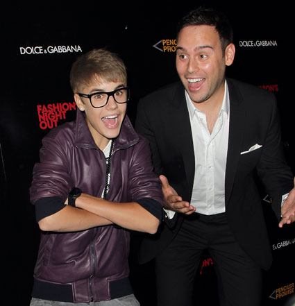 scooter braun angry about justin bieber grammy snub