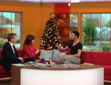 rylan clark on daybreak 1