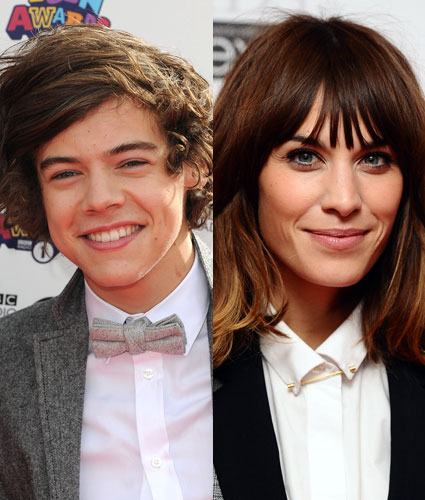 Harry Styles and Alexa Chung hit it off