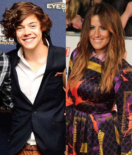 Caroline Flack takes to twitter to dispel another rumour