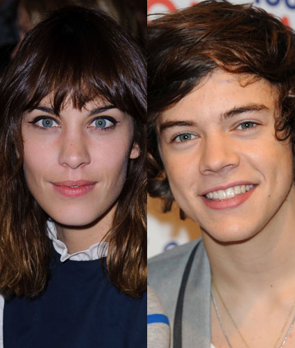 Alexa Chung and Harry Styles hit it off?
