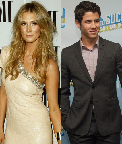 Nick Jonas and Delta Goodrem split