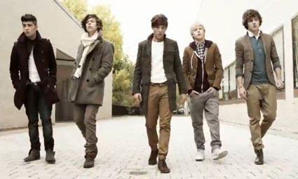 One Direction in new Gotta Be You Direction's Cut
