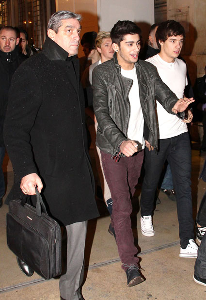 liam payne and zayn malik in paris with one direction