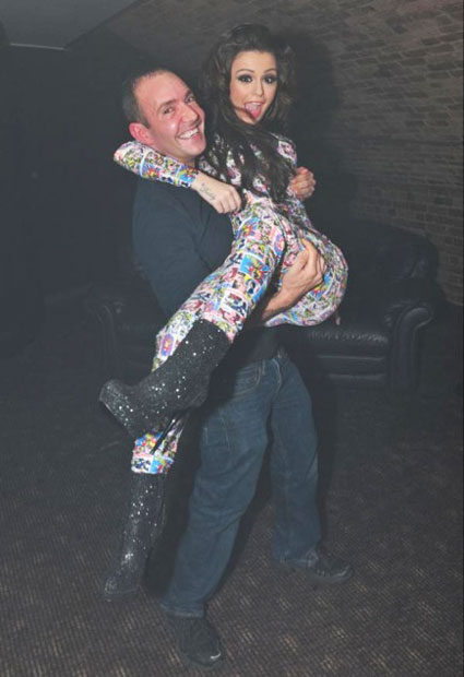 twitpic of cher lloyd and jeremy joseph from g-a-y