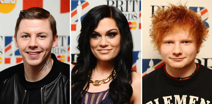 Jessie J Ed Sheeran and Professor Green to play bbc radio 1 hackney weekend 2012