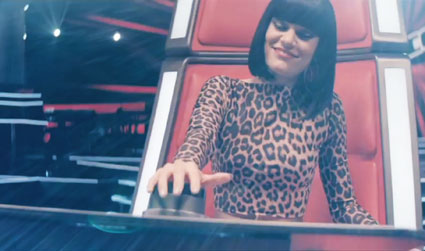 jessie j on bbc programme the voice