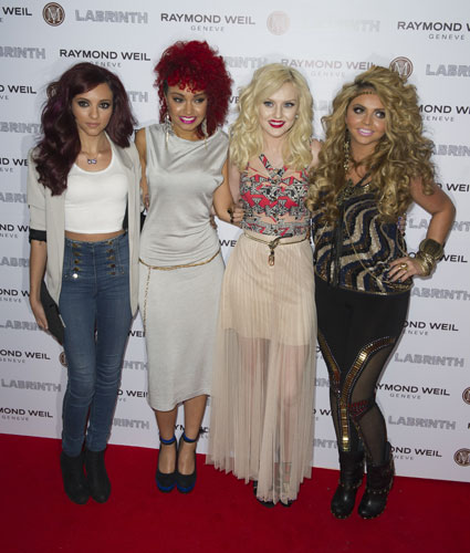 little mix at brits 2012