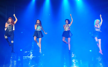 little mix on the x factor live tour 2012 in manchester