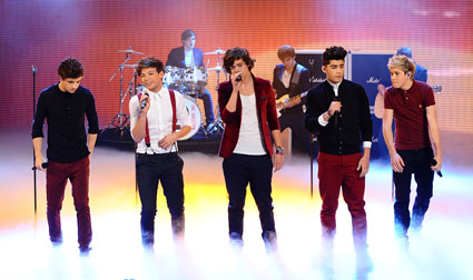 One Direction perform on BBC Children in Need 2012