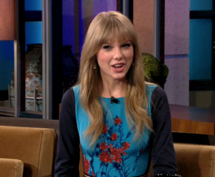 VIDEO: Taylor Swift talks romance, mean critics and working with