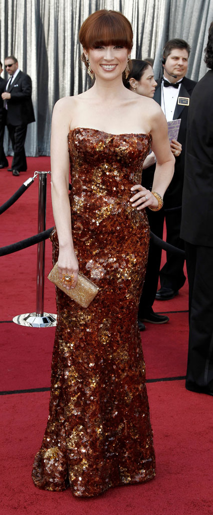 ellie kemper at 2012 oscars