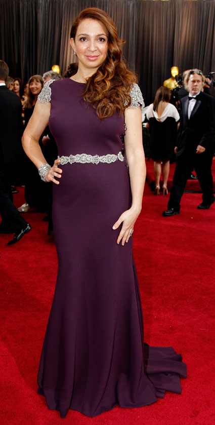 maya rudolph at  2012 oscars