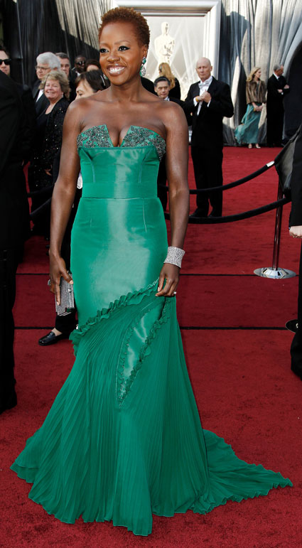 viola davis worst dressed at 2012 oscars