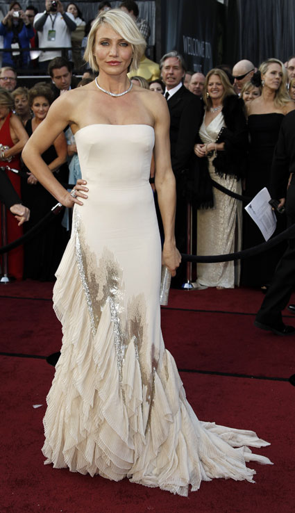 cameron diaz at 2012 oscars