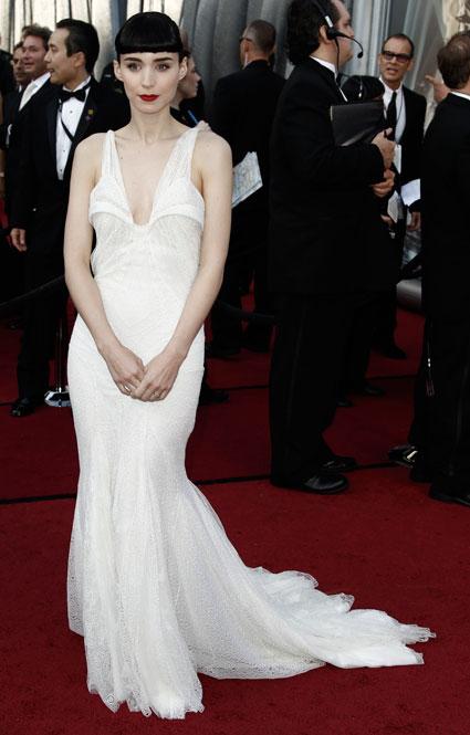 Rooney Mara at 2012 oscars
