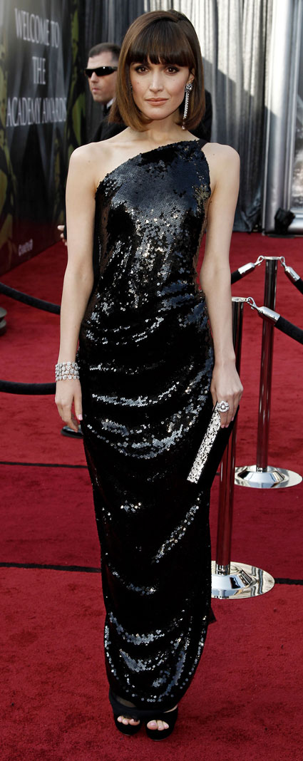 rose byrne at 2012 oscars