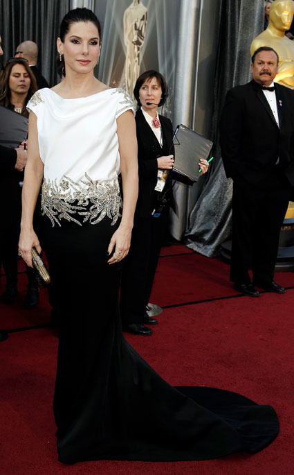 Sandra Bullock at 2012 oscars
