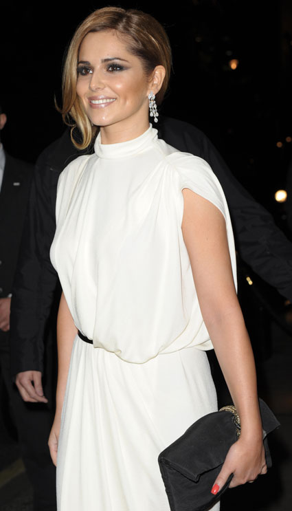 cheryl cole at prince's trust dinner