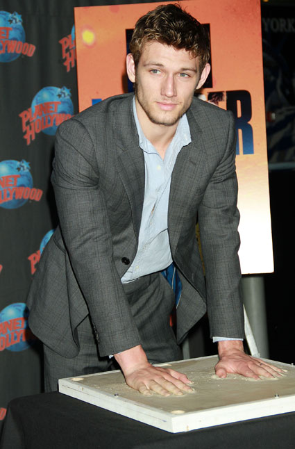 Alex Pettyfer called into Planet Hollywood in New York yesterday,