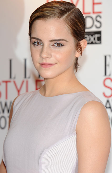emma watson hair. Emma Watson: quot;I#39;m trying to