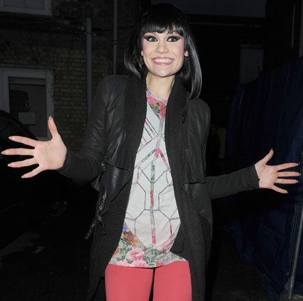 Jessie J took her collection of trademark patterned tights to London's KOKO ...