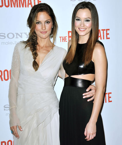 SEPARATED AT BIRTH? Leighton Meester and Minka Kelly