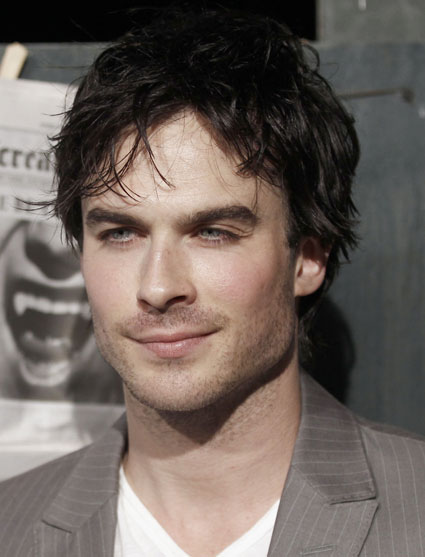 Ian Somerhalder and those eyes. Oh, those eyes. Click next for more.