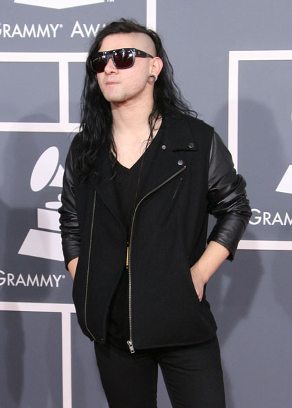 Skrillex working on Spring Breakers music