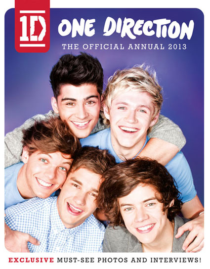 one direction official annual 2012